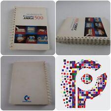 Introducción a la amiga 500 Commodore Libro Manual