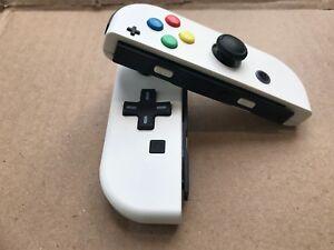 Nintendo Switch Custom Joy Con Controller Joy-Cons White D-PAD NEW
