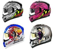 2019 Icon Alliance GT DL18 DC18 BIRDSTRIKE MOTORCYCLE HELMET - PICK SIZE COLOR