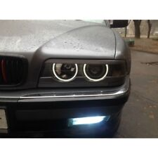 BMW E38 unpainted headlight eyebrows eyelids trim cover sticker