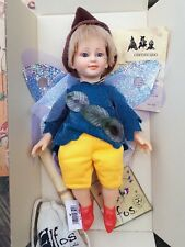 Uriel~Boy,Fairy/pixie Doll with wings, Soft Torso. Little Elfos Collectable, Toy