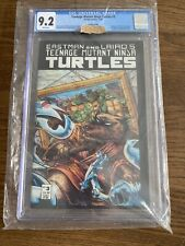 TEENAGE MUTANT NINJA TURTLES #3 2nd Print Comic 1988 CGC 9.2 Mirage studios