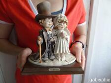 """Guiseppe Armani Florence Group Figurine Child's Play Bride & Groom No 0132C 6.5"""""""