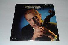 Dvorak Cello Concerto~Piatigorsky/Munch~Boston Symphony Orchestra~FAST SHIPPING!