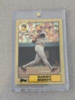 1987 Topps #320 Barry Bonds Rookie