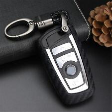 1pc Carbon Fiber Silica Soft Case Cover Key FOB Remote for BMW F22 F30 F82 X3 X4