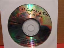 Joey Defrancesco - Organic Vibes PROMO Advance CD VG Condition JAZZ