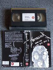 METALLICA - Cliff em all - VHS