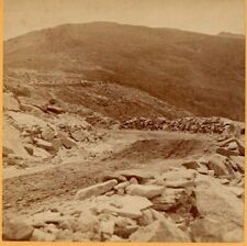 Mt. Washington Carriage Road. Kilburn  Stereoview Photo