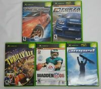 Xbox 5 Game Lot Thrillville Amped Forza Madden 06 Need for Speed Underground