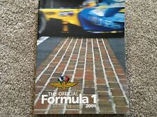 The Official Formula 1 Season Review 2006 paperback book
