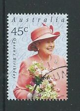 AUSTRALIA 2001 QUEEN ELIZABETH'S BIRTHDAY FINE USED