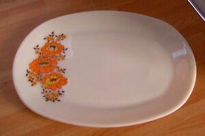 PYREX 'Sunflower' Platter, retro, vintage, shabby chic