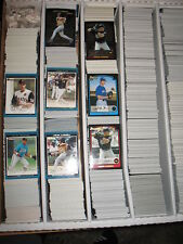 2003 Bowman Draft, Gold,Chrome, Ref Baseball  Large Lot Approximately 354 Cards