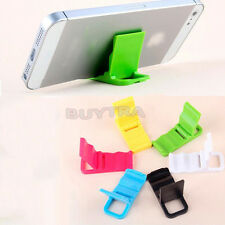 Practical Plastic Foldable Mini smartphone Stand Holder for HTC iPhone 5/4S SEAU