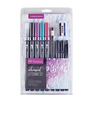 Tombow Advanced Lettering Set Marker 56191 Dual Tip Brush Pens Calligraphy Set