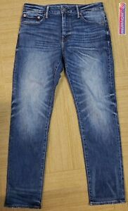NEW! American Eagle Airflex Slim Straight Blue Denim Jeans Men's 31x32 Stretch