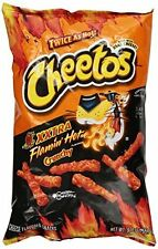 Cheetos XXtra Flamin' Hot Crunchy Flavor Snacks, 8.5 oz (10 Pack)