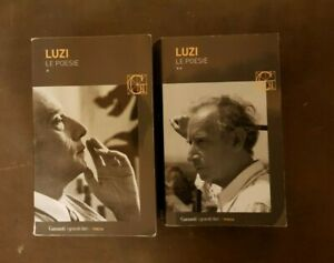"Mario Luzi ""Le poesie"" 2 volumi, Garzanti"