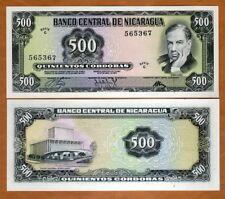 Nicaragua, 500 cordobas, 1972, P-127, C-Serie, UNC