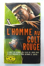 l'homme au colt rouge chuck adams western pocket 9  ed bel air 1965