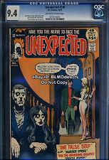 VHTF 1971 CGC 9.4 Unexpected #130 Horror DC Comics 2nd Highest No 9.8 Copies