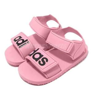 adidas Originals Beach Sandal I Pink Black TD Toddler Infant Baby Shoes CG6602
