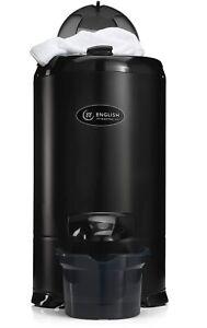 English Electric Black Gravity Drain Spin Dryer 28009B1 5.2kg Not Tumble