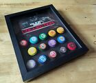 Call of Duty zombies perks, Black Ops 1,2,3,4 perk a cola, in a shadowbox