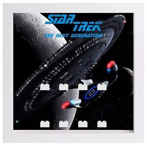Display Frame for Lego Star Trek The Next Generation minifigures figures 25cm