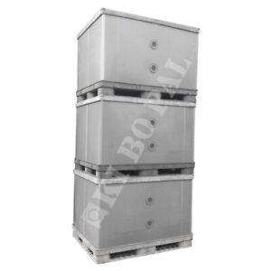 Palettenbox BigBox Kunststoffbox EXPORTBOX Großbehälter Lager SpeditionBehälter