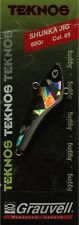 Jig Grauvell TeKnos Shunka 60g couleur 05 noir reflet holographique multicolor