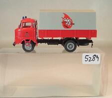 SES S.E.S. 187 IFA W50 mit Hebebühne DDR Feuerwehr OVP