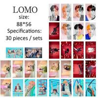 30pcs/set KPOP  LOVE YOURSELF 結 ANSWER HD Photo Cards Mini Poster LOMO Card