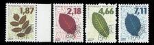 Préoblitérés 1996 Feuilles d'arbres n°236 à 239 neufs