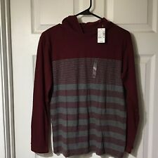 THE CHILDRENS PLACE BOYS LONG SLEEVE HOODIE SHIRT, SIZE XLARGE, NEW