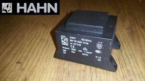 HAHN BV EI 543 1176 Transformer Encapsulated 230VAC 18V 1.223A 22VA  New **