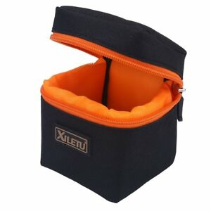 Anti-shock Small Padded Camera Lens Bag Protective Pouch Cover Case for DSLR