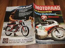 MOTORRAD vom 15.5.1971 -- EIFELRENNEN / Test: AERMACCHI 350 / Harley-Weltrekord
