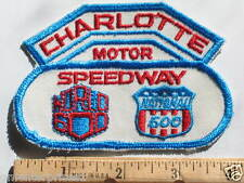 Charlotte Motor Speedway Patch World 600 National 500 Racing Event (#374) *