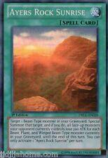 DRLG EN020 1ST ED 1X AYERS ROCK SUNRISE SUPER RARE CARD