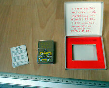 Zippo 1991 James Rizzi Zippo Taxi lighter No.150 out of 200 ltd edition