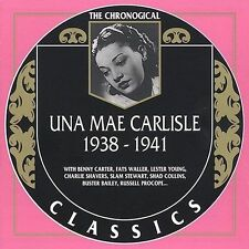 UNA MAE CARLISLE 1938-41 CLASSICS CD LONG OUT OF PRINT