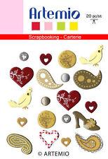 20 ATTACHES PARISIENNES ATLANTIQUE THEME MARIAGE ARTEMIO 11006173