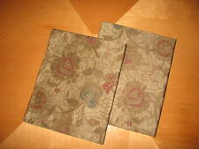 Ralph Lauren VENETIAN COURT Tapestry 2(TWO) KING Shams  New