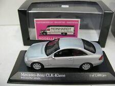 1/43 Minichamps MB clk coupe 2001 plata-metalizado 400031424