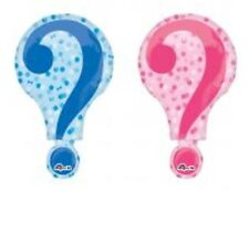 """Boy Or Girl Gender Reveal 28"""" Anagram Balloon Baby Shower Decorations"""