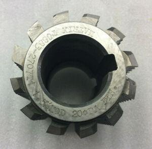 Gear cutting hob 1.5 module 20 pa manufactured by Matrix