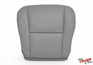 For 2005 2006 Toyota Tundra SR5 XSP- Driver Side Bottom Leather Seat Cover Gray