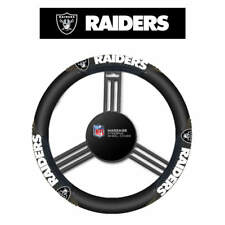 NFL Oakland Raiders Massage Steering Wheel Cover By Fremont Die